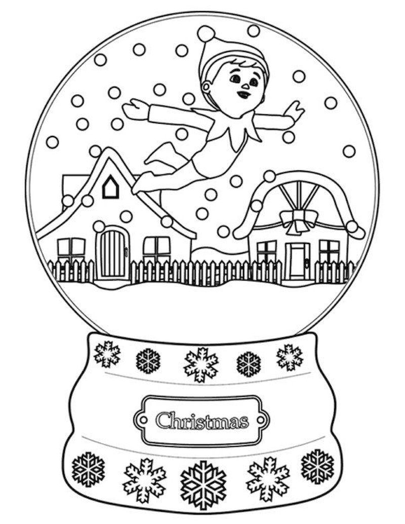 Female Elf Coloring Pages