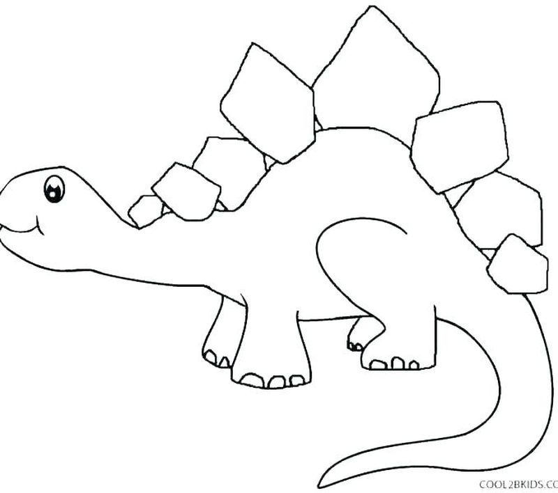 Fierce Dinosaur Coloring Pages