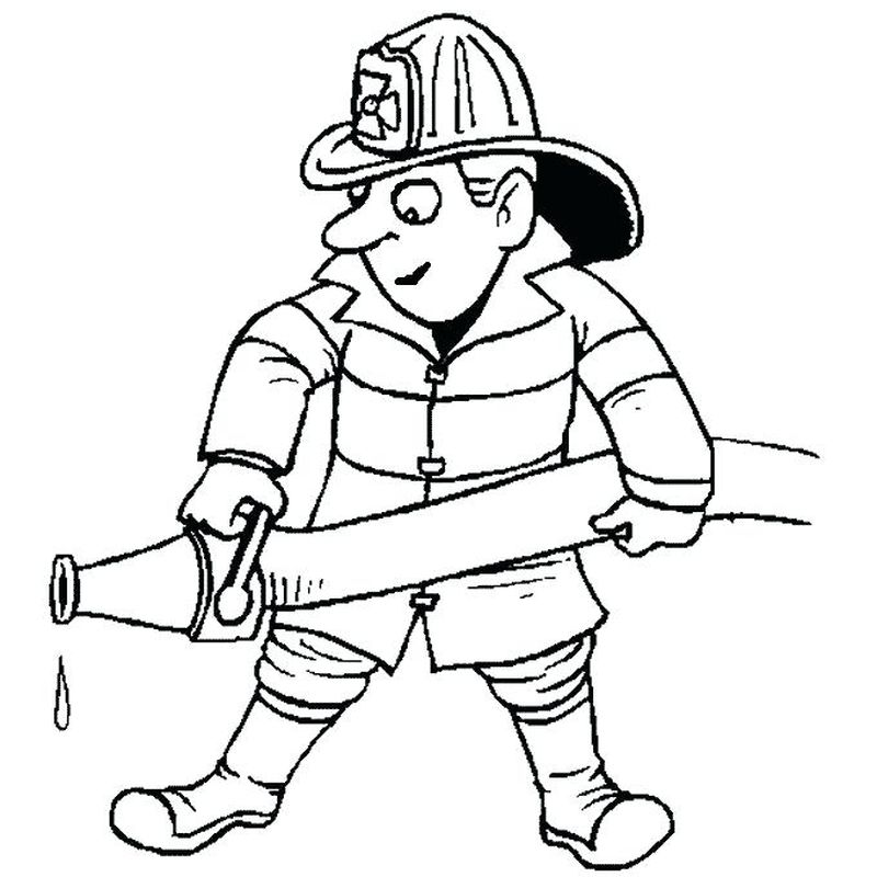 Fireman Sam Coloring Pages Free