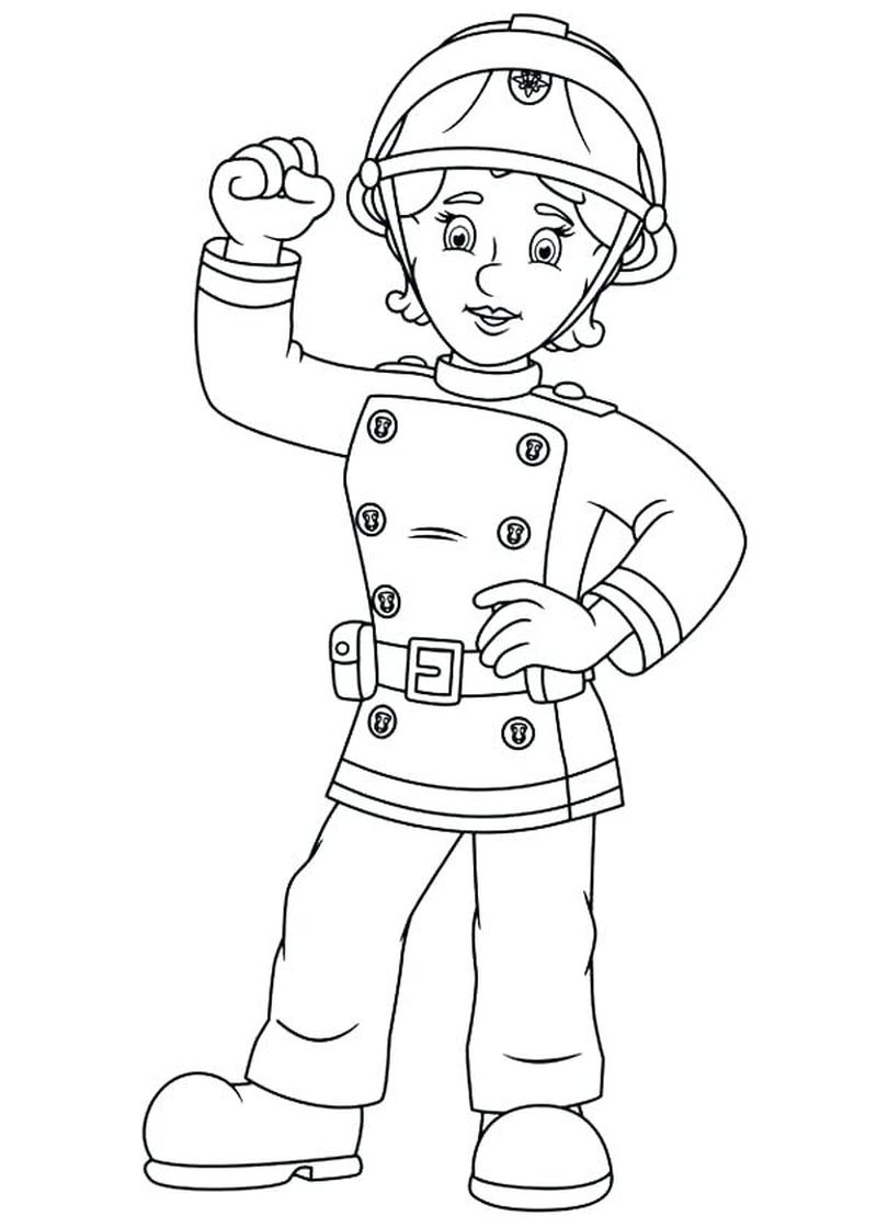 Fireman Sam Coloring Pages Online