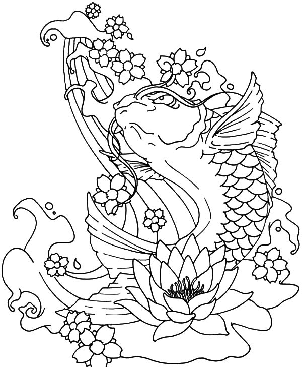 Fish Coloring Pages Printable