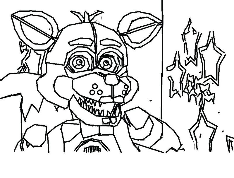 Five Nights At Freddys Coloring Pages Pdf