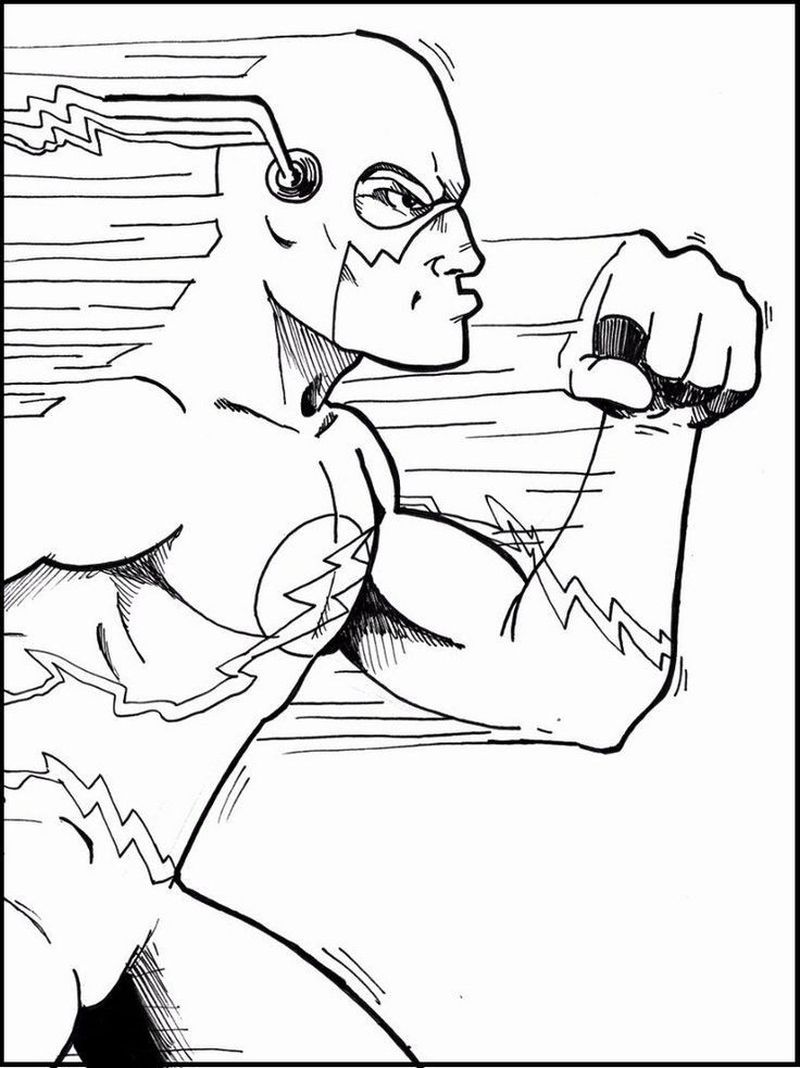 Flash Colouring Pages To Print
