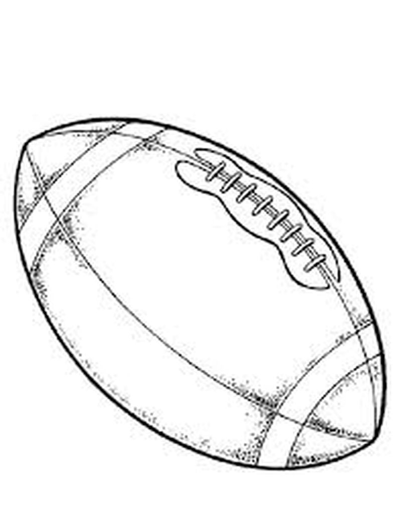 Football Coloring Pages Patriots