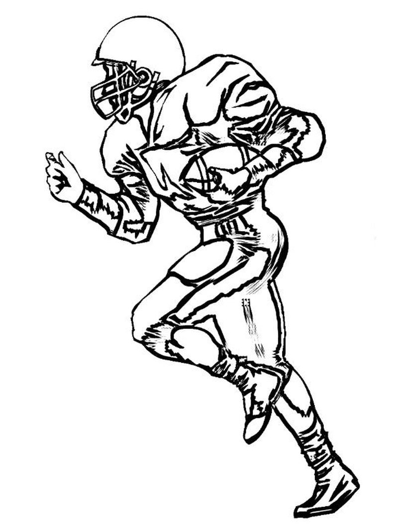 Football Coloring Pages Pdf
