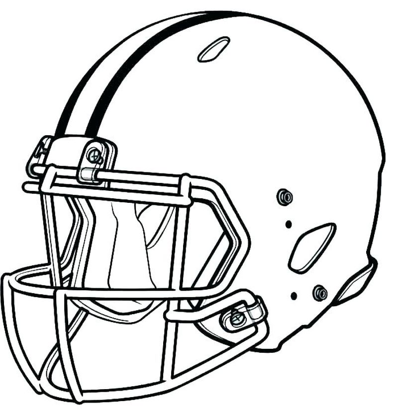 Football Coloring Pages Teams