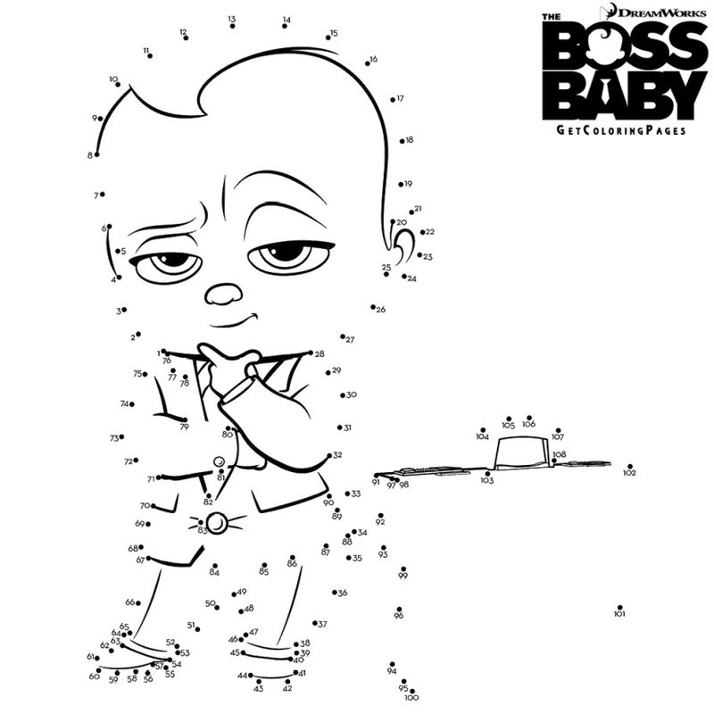 Forever Puppy Boss Baby Coloring Pages