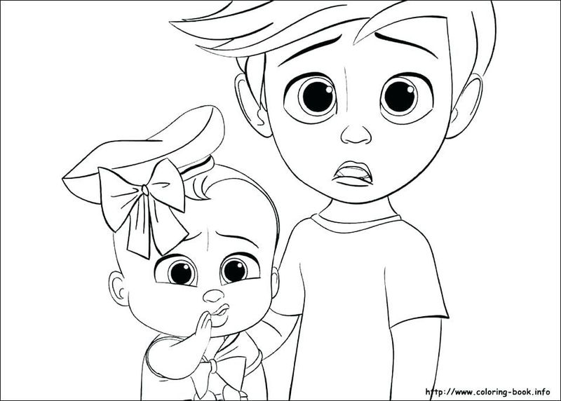 Fortnite Baby Boss Coloring Pages