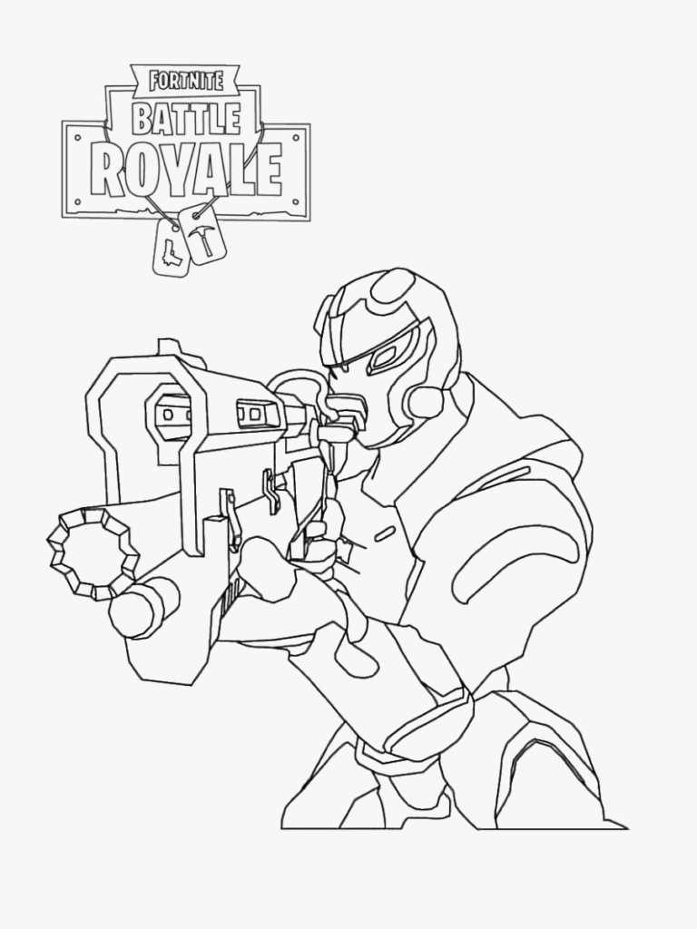 Fortnite Coloring Pages Pdf