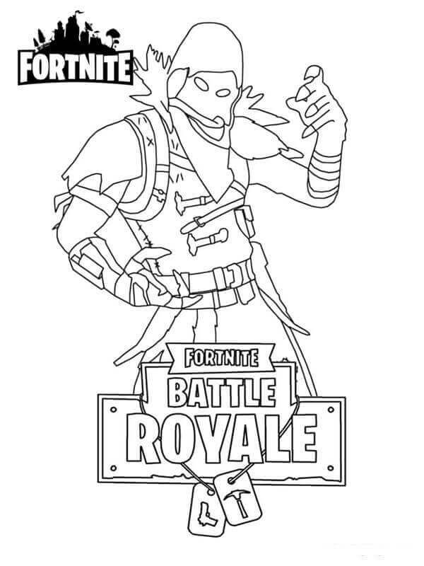 Fortnite Coloring Pages Season 9