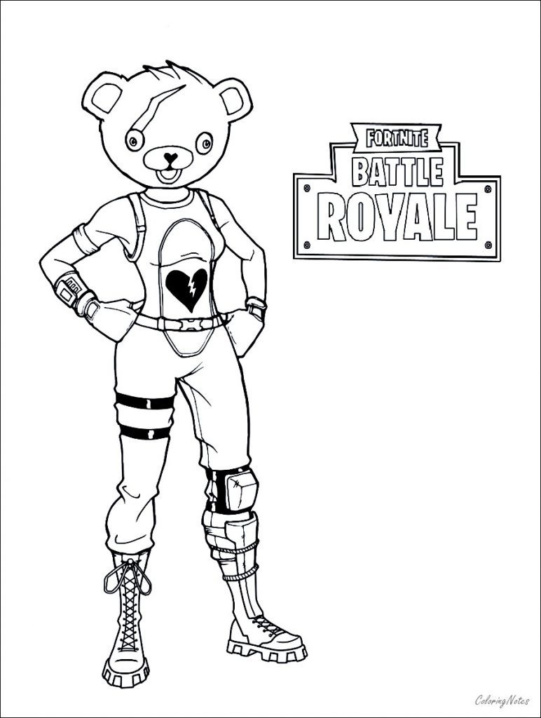 Fortnite Coloring Pages To Print