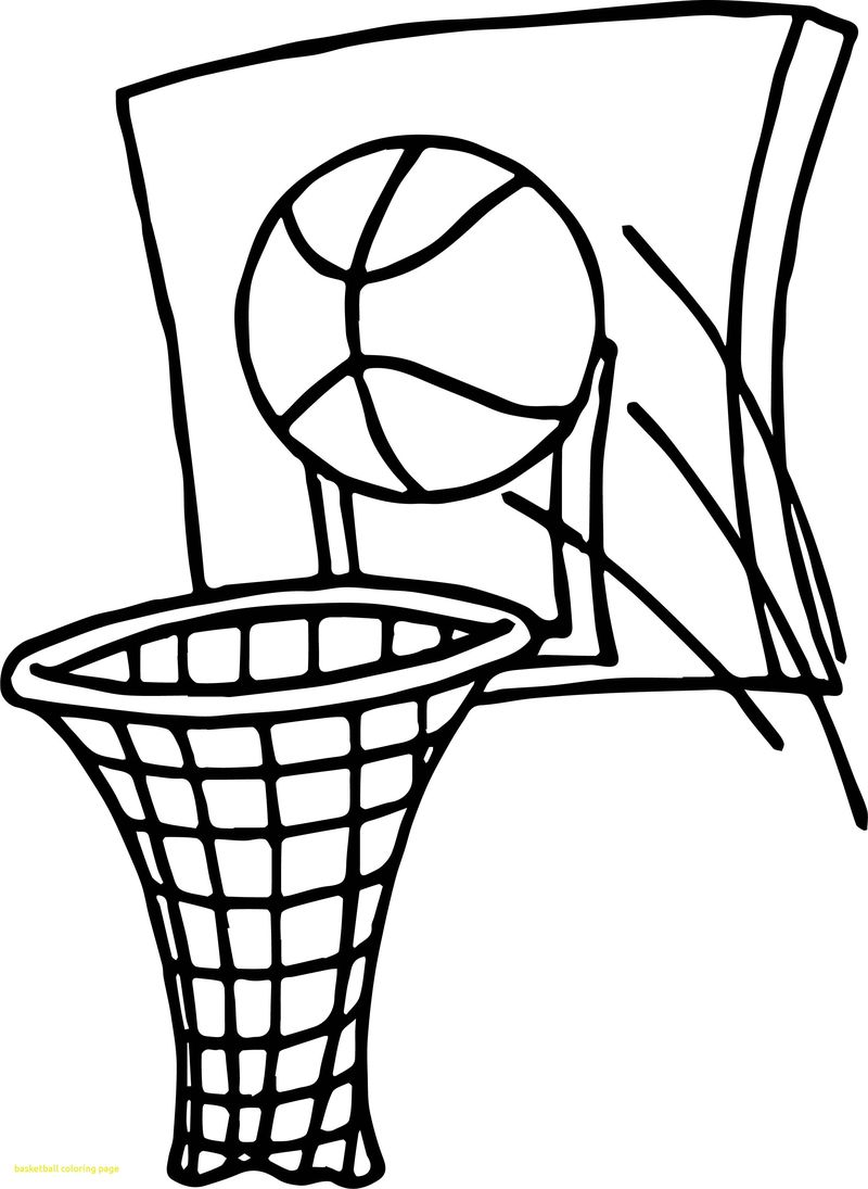 Free Basketball Coloring Pages To Print