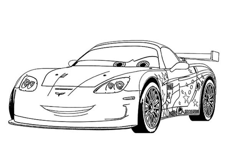 Free Car Coloring Pages For Kids
