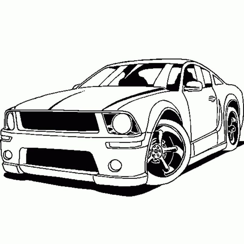 Free Car Coloring Pages To Print