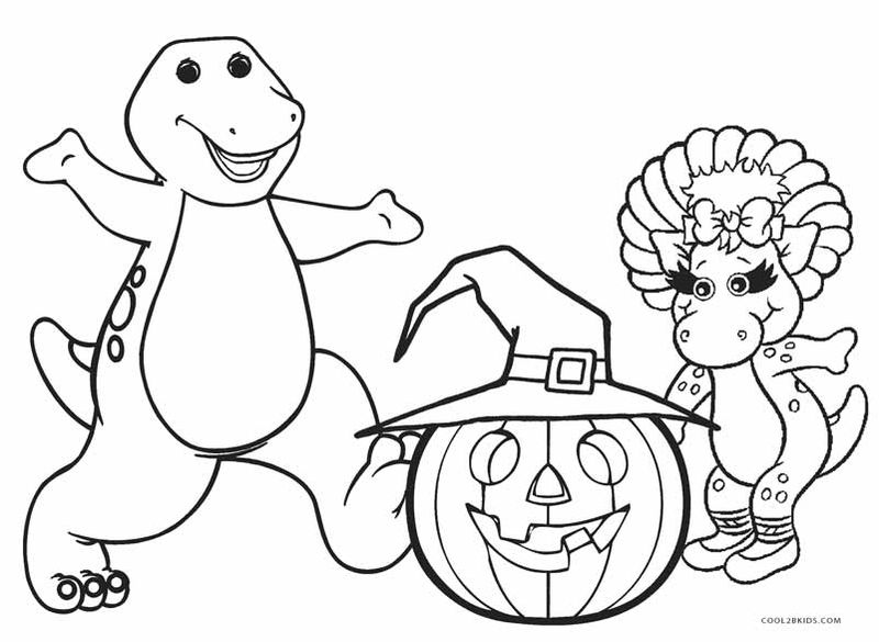 Free Coloring Pages About Halloween