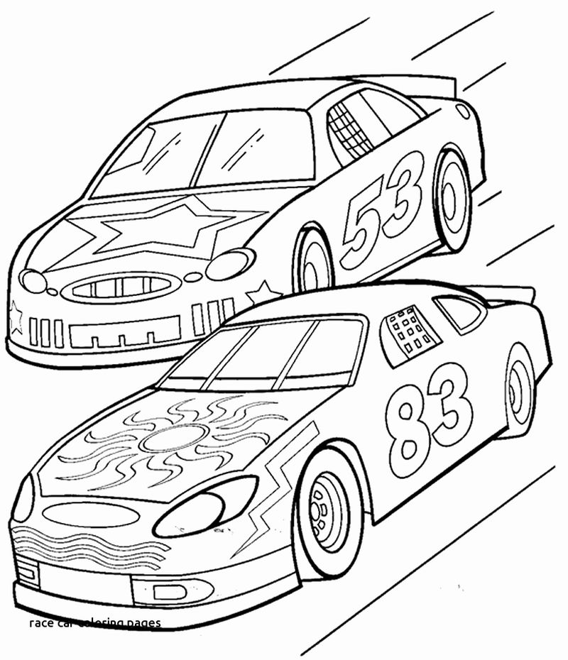 Free Coloring Pages Car