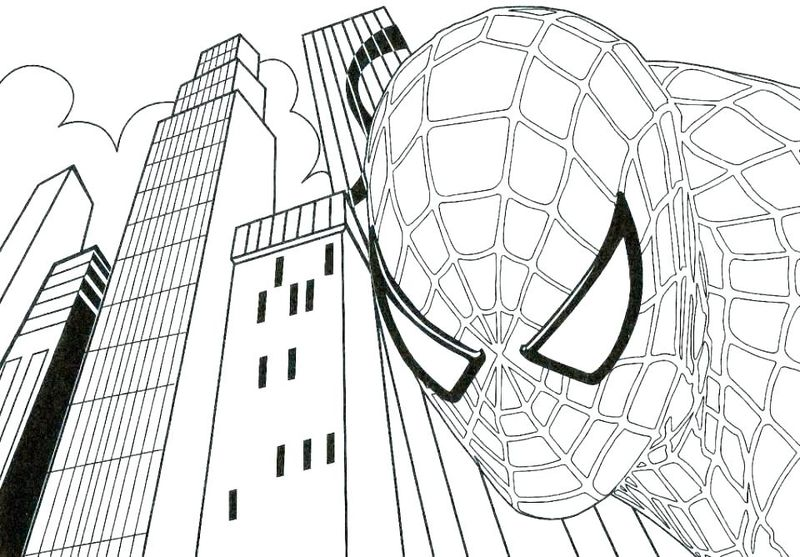 Free Coloring Pages Of Venom From Spiderman