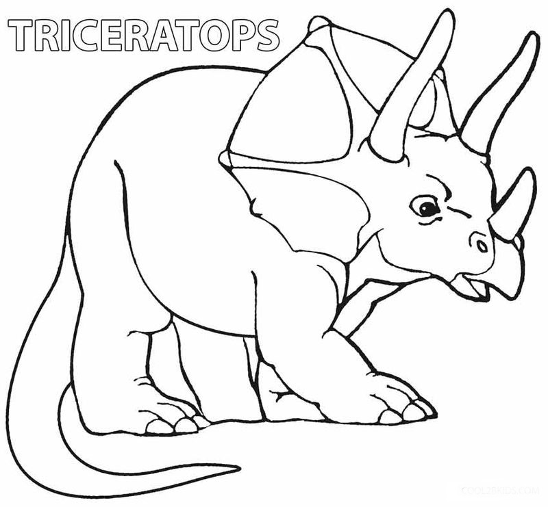 Free Dinosaur Coloring Pages Online