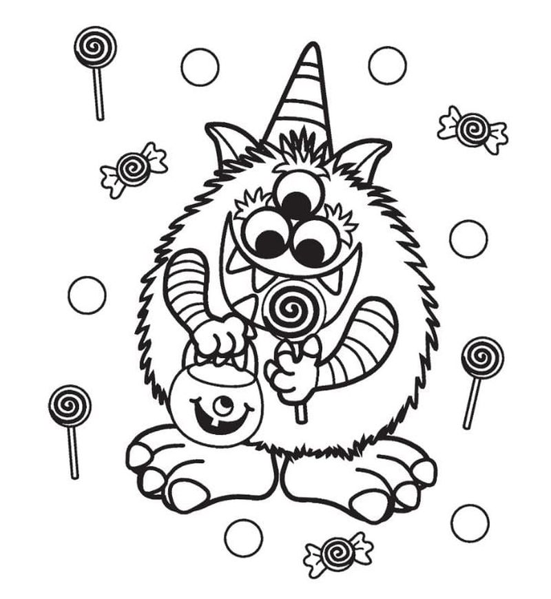 Free Halloween Coloring Book Pages