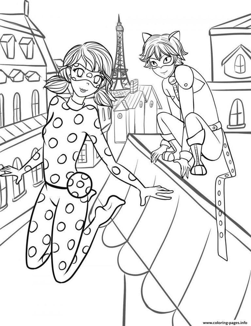Free Ladybug Coloring Pages