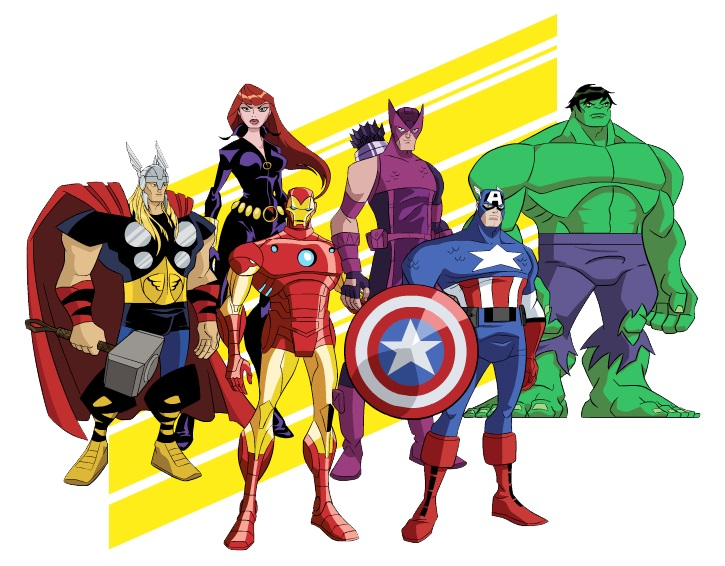 Free Online Avengers Coloring Pages