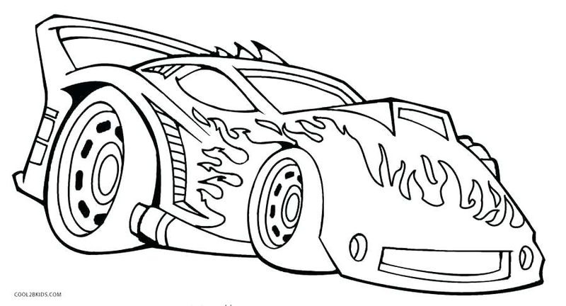 Free Online Car Coloring Pages