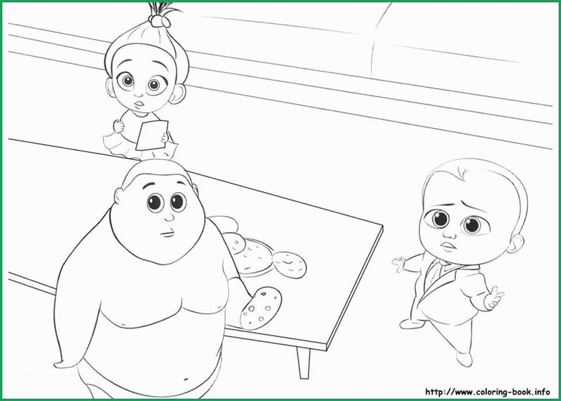 Free Printable Coloring Pages For Boss Baby