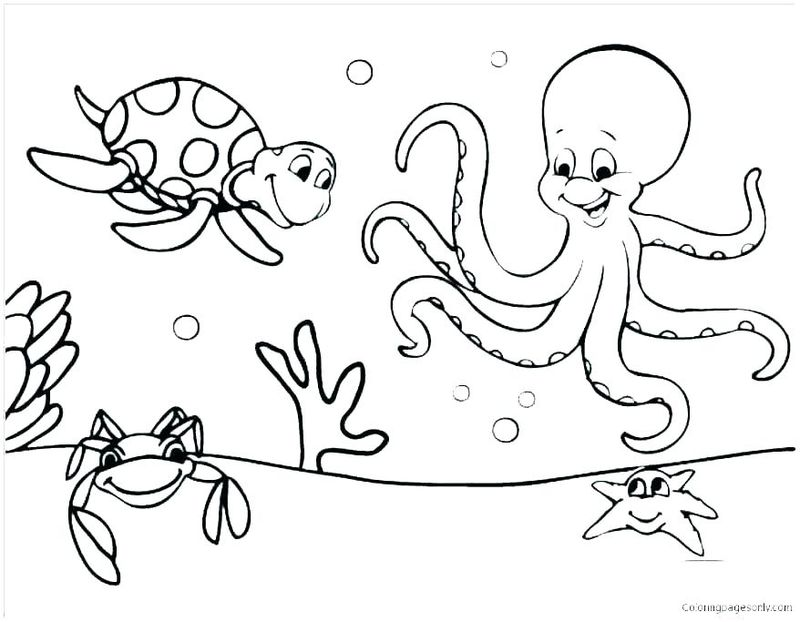 Free Printable Coloring Pages Of Baby Animals