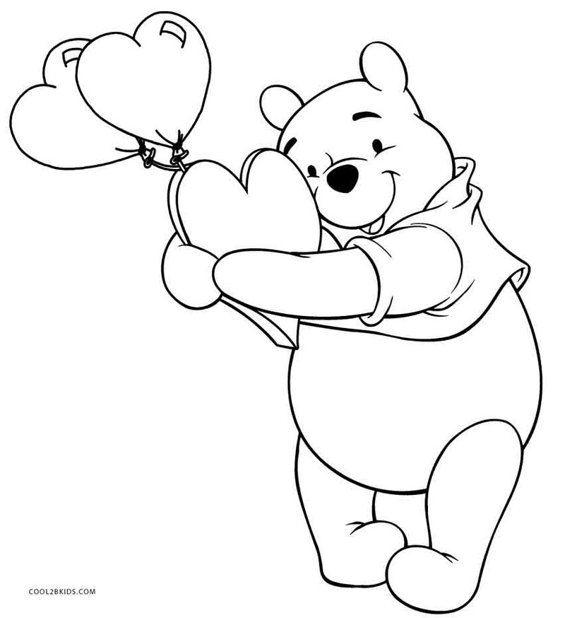 Free Printable Coloring Pages Of Winnie The Pooh And Friends
