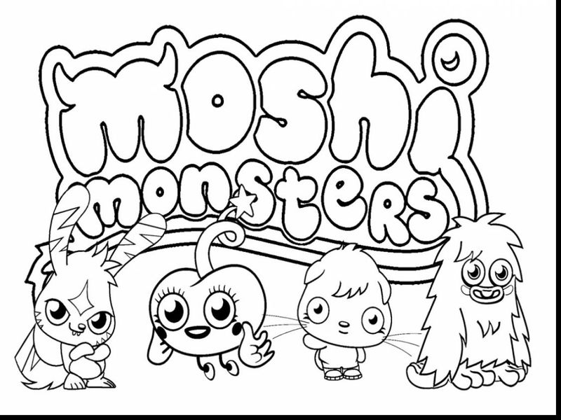 Free Printable Monster Inc Coloring Pages