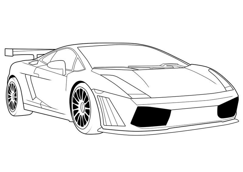 Free Race Car Coloring Pages For Kids