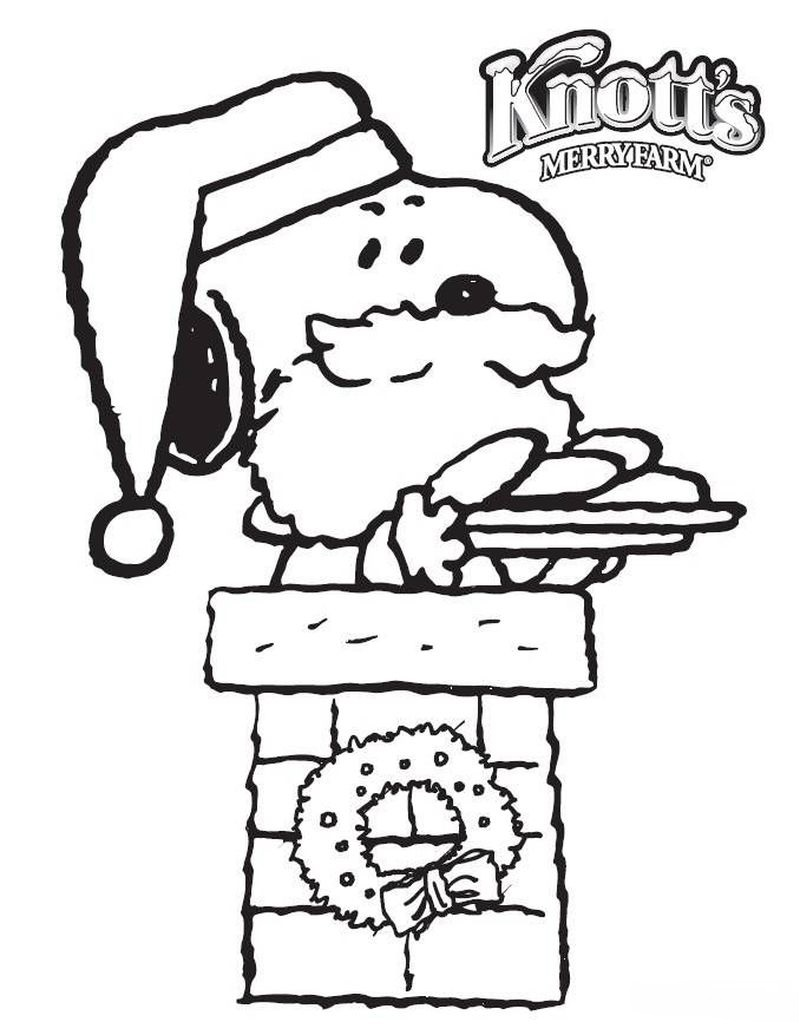 Free Snoopy Easter Coloring Pages