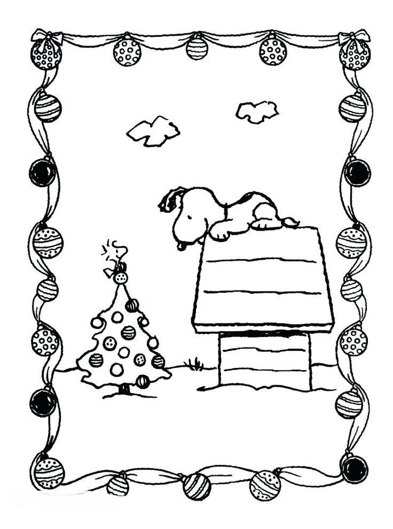 Free Snoopy Valentine Coloring Pages