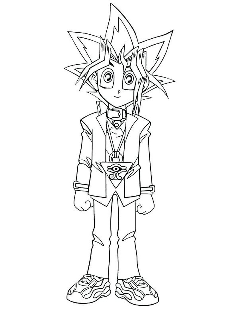 Free Yugioh Coloring Pages Print pdf