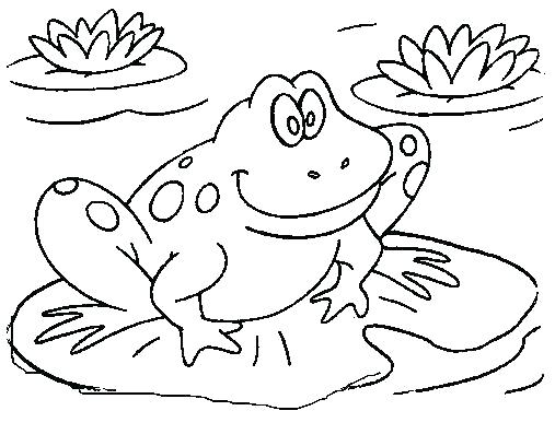 Frog And Toad Printable Coloring Pages