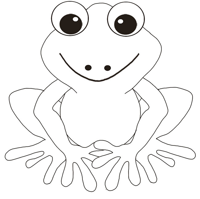 Frog Coloring Pages Free