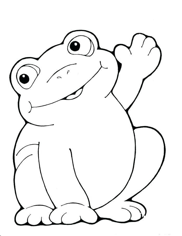 Frog Colouring Pages Printable