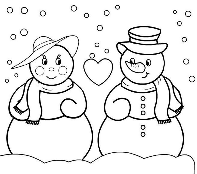 Frosty The Snowman Coloring Pages For Free