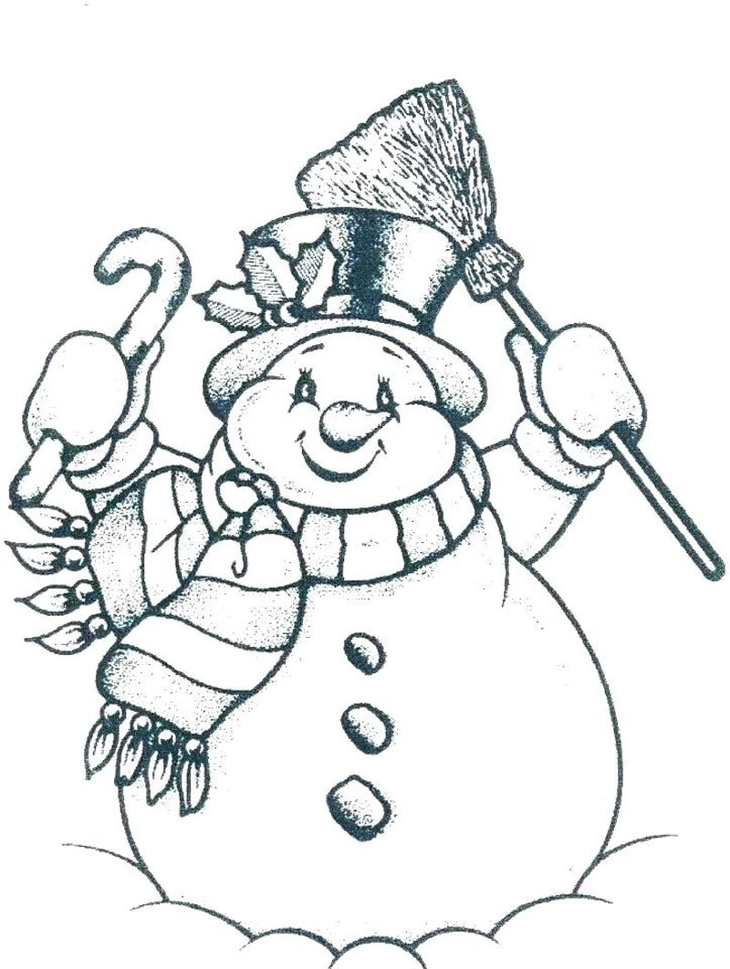 Frosty The Snowman Coloring Pages Momjunction