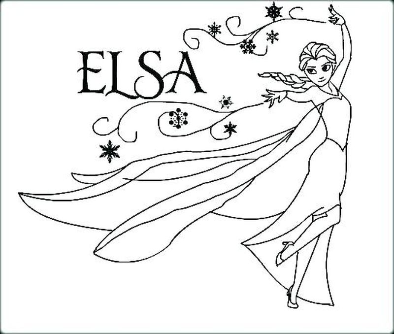 Frozen Coloring Pages Momjunction