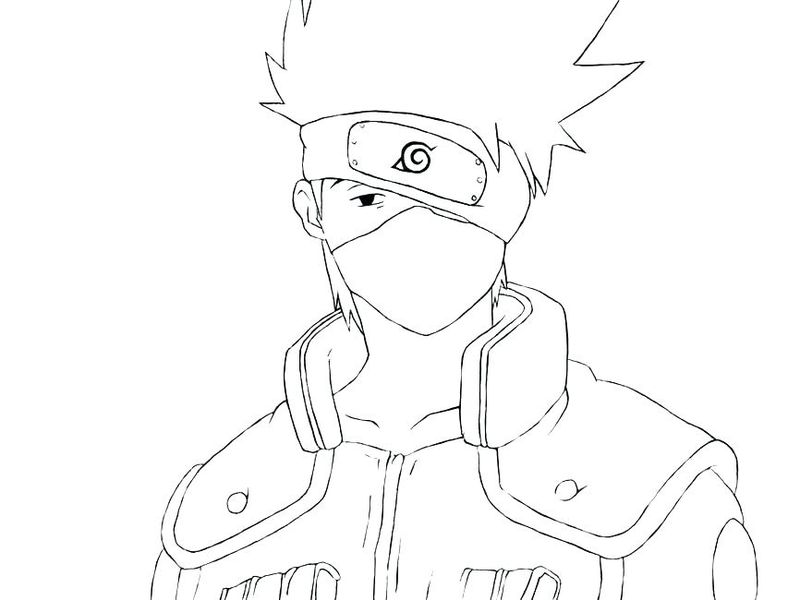 Full Page Naruto Coloring Pages