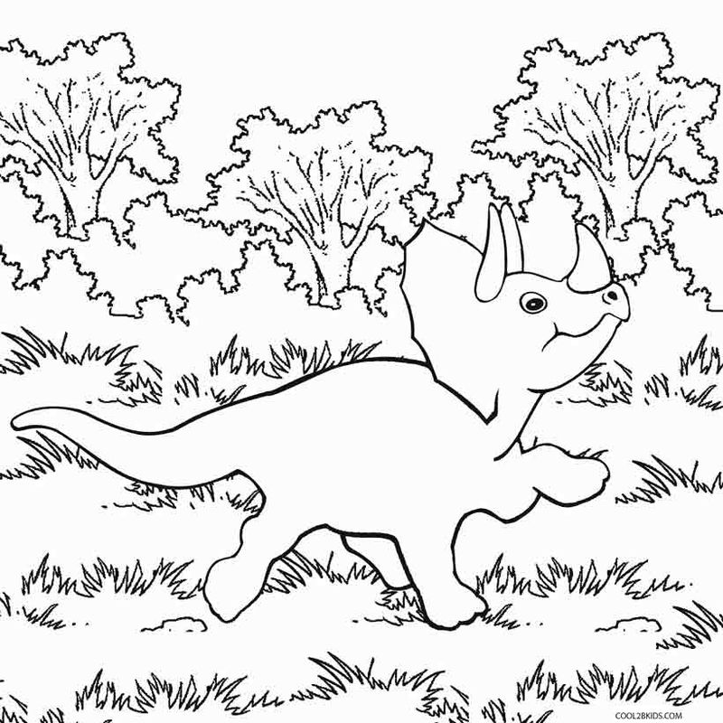 Fun Dinosaur Coloring Pages