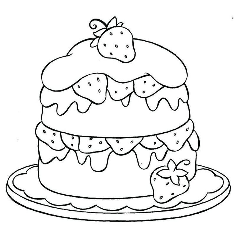 Gir Cupcake Coloring Pages
