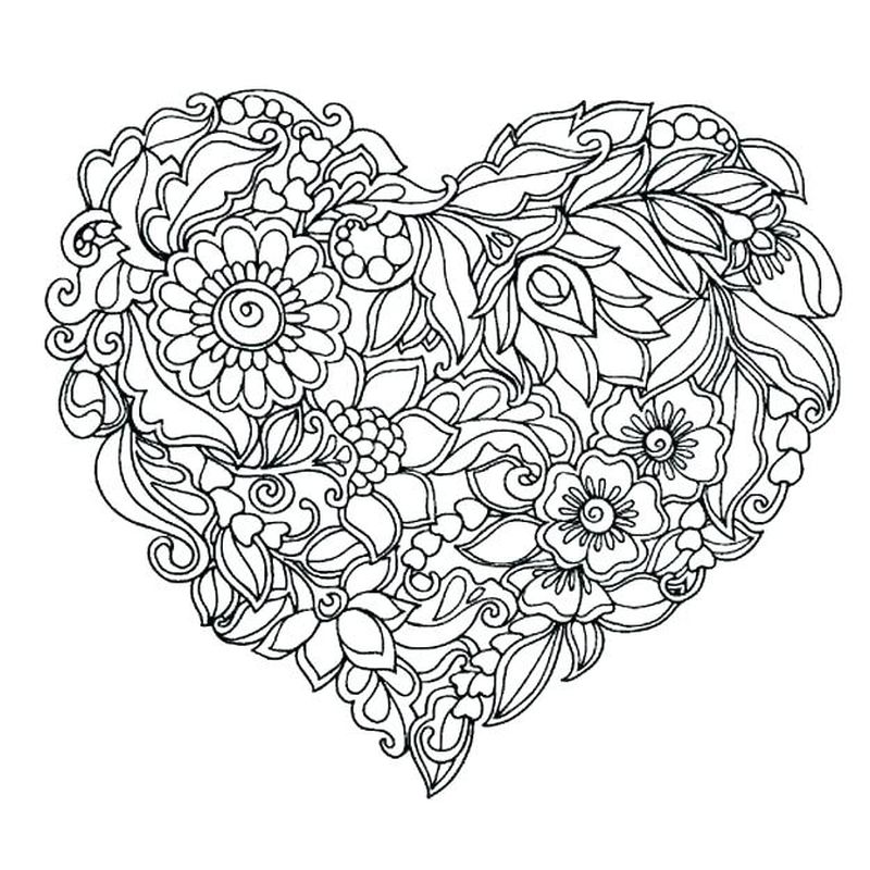 Girl Scout Daisy Flowers Coloring Pages