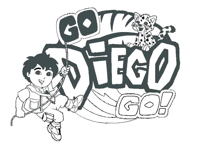 Go Diego Coloring Pages