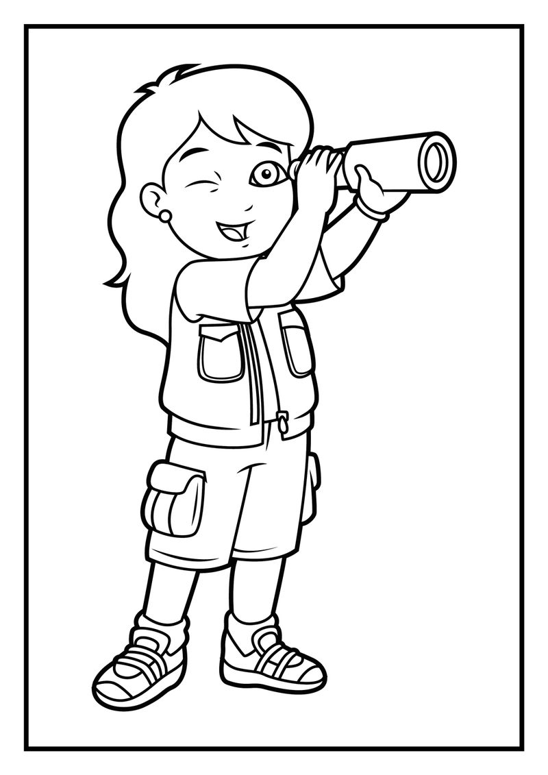 Go Diego Go Coloring Pages free