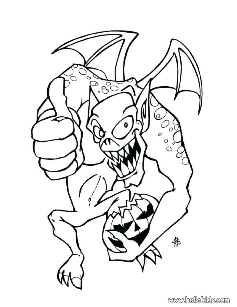 Halloween Coloring Pages And Activities