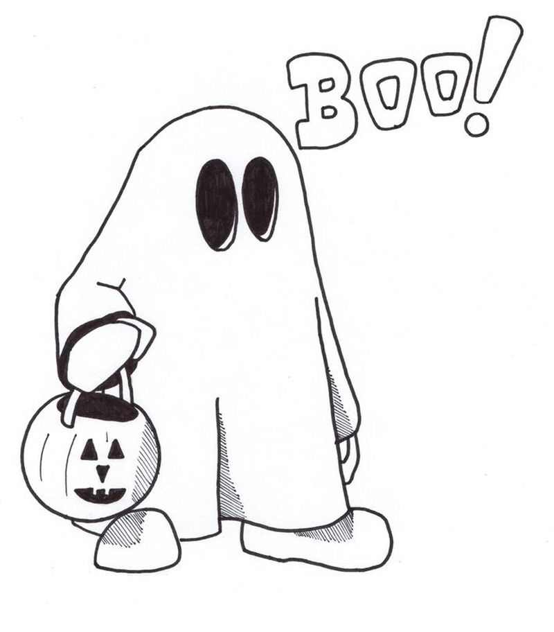 Halloween Coloring Pages Christian