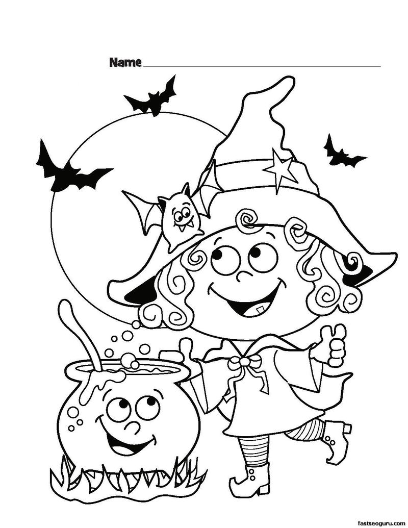 Halloween Coloring Pages Crayola