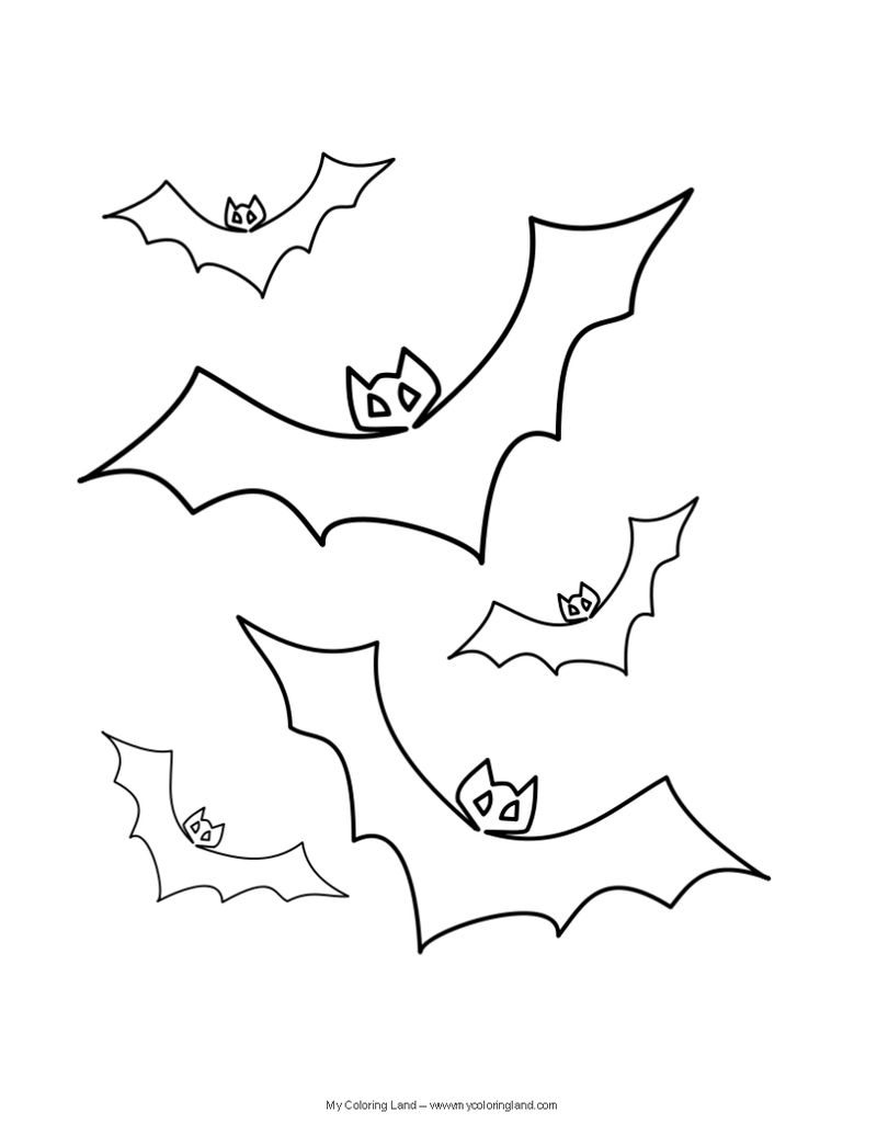 Halloween Coloring Sheets And Puzzles